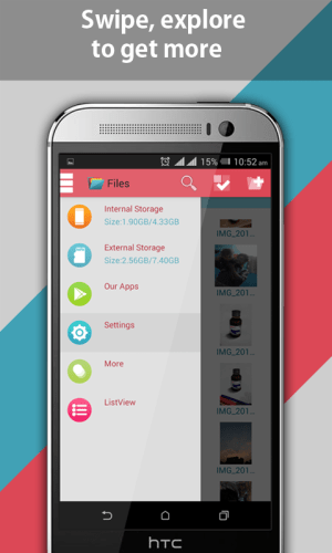 Android File Explorer and File Manager Screen 17