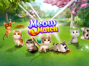 Meow Match: Cats Matching 3 Puzzle & Ball Blast 0.9.1 Screen 4