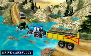 Heavy Tractor Trolley Driver Simulator Game 1.0 Screen 1