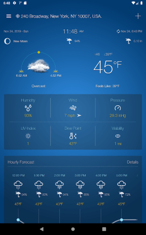Weather Advanced for Android 1.0.5.0 Screen 11