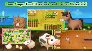 Android Harvest Moon: Light of Hope Screen 1