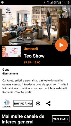Orange TV Go 8.1.1 Screen 1