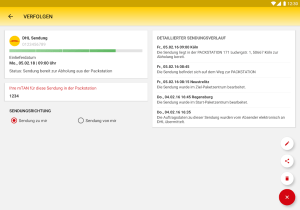 DHL Paket 2.25.1 Screen 18