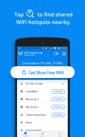 WiFi Master Key - by wifi.com 4.6.87 Screen 1