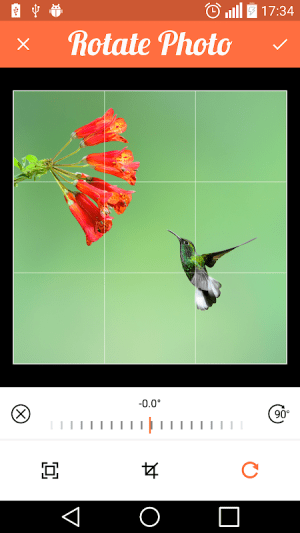 Android Compress Image , Resize and Crop Screen 4