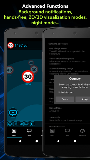 Speed Camera Detector Free 6.66 Screen 3