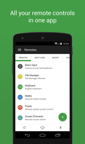 Unified Remote 3.2.2 Screen 8