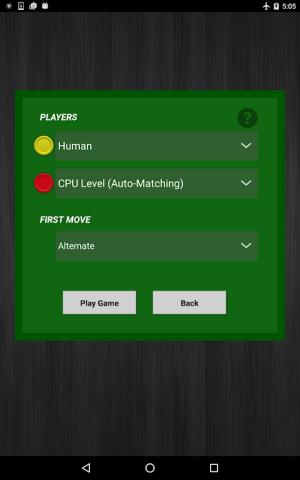 4 in a Row 1.4.1 Screen 7