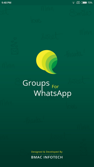 Groups for Whatsapp - Join now 1.0.3 Screen 5