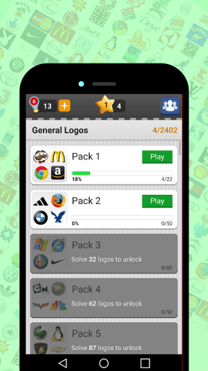 Android Logo Game: Guess Brand Quiz Screen 7