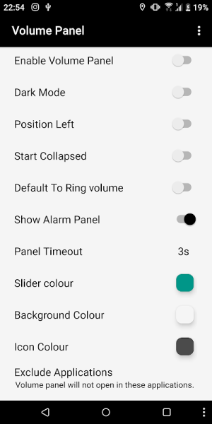 Volume Control Panel Pro 9.1 Screen 3