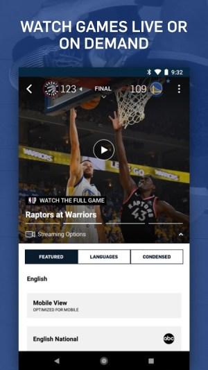 NBA: Live Games & Scores 3.1.4 Screen 6