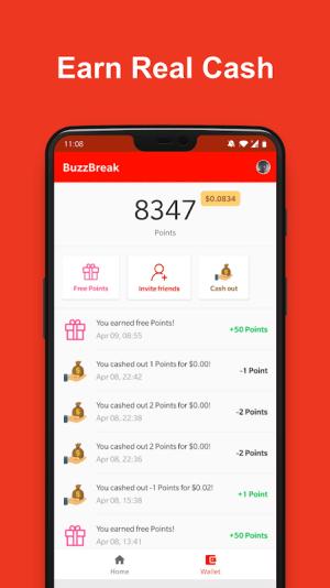 BuzzBreak News - Buzz News & Earn Free Cash! 1.1.3.9 Screen 2