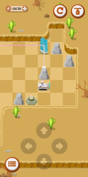 Laser Odyssey - Reflection Puzzle 1.02c Screen 5