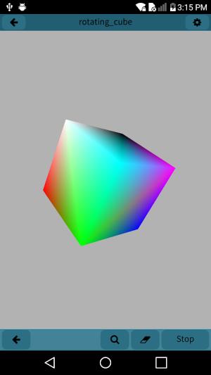 Mobile C [ C/C++ Compiler ] 2.5.1 Screen 4
