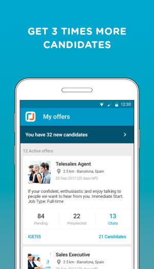 CornerJob - Job offers, Recruitment, Job Search 1.6.11 Screen 6