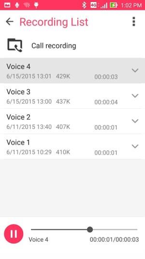 ASUS Sound Recorder 2.0.0.21_190411 Screen 2