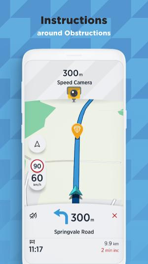 TomTom AmiGO - GPS, Speed Camera  & Traffic Alerts 7.395.0 Screen 5
