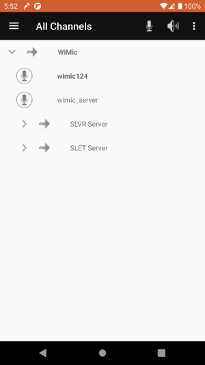 Android WiMic Screen 3