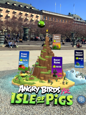 Angry Birds AR: Isle of Pigs 1.1.2.57453 Screen 6