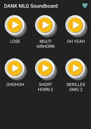 DANK - MLG Soundboard 1.1 Screen 2