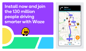 Waze - GPS, Maps, Traffic Alerts & Sat Nav 4.65.4.900 Screen 1