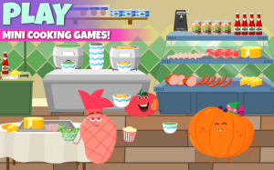 Android Supermarket - Fruits Vs Veggies Kids Shopping Game Screen 2