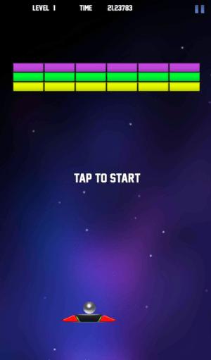 BrickBreaker Galaxy 1.0 Screen 1
