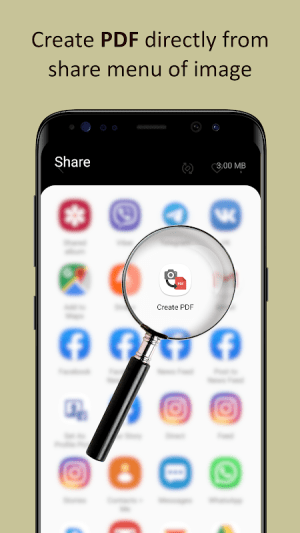 Image to PDF or jpg to PDF – One Click Converter 1.0.38 Screen 3