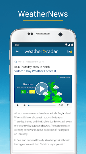 Weather & Radar UK / Ireland 2019.1.1 Screen 18