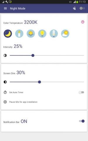 Blue Light Filter - Night Mode, Night Shift 1.4.7N Screen 5