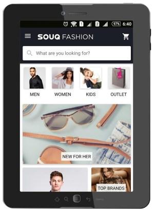 Android Souq.com Screen 3