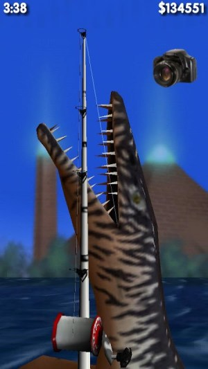 Big Dino Fishing 3D 1.02 Screen 1