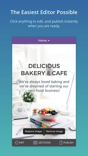 Strikingly - Build Websites from Your Phone 1.1.3 Screen 1