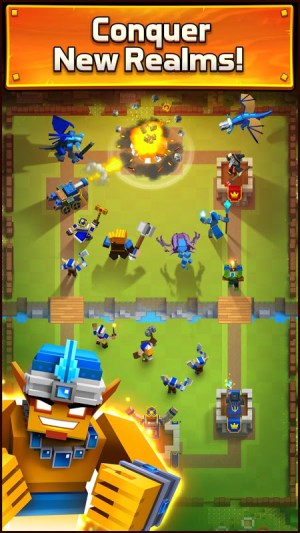 Android Royale Clans – Clash of Wars Screen 3