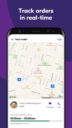 Grubhub: Local Food Delivery & Restaurant Takeout 7.157 Screen 3