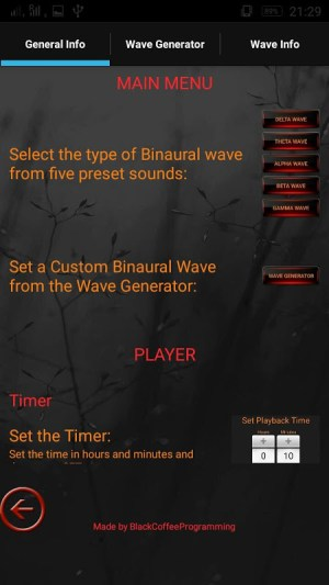 Brain Wave Therapy (Binaural) 2.14 Screen 5