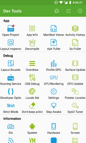 Dev Tools(Android Developer Tools) 4.3.1 Screen 1