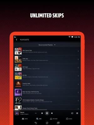 Android Amazon Music Screen 2