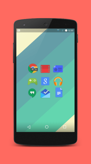 Android Platy UI 2 - Icon Pack Screen 1