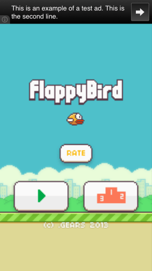 Flappy Bird 1.3 Screen 2