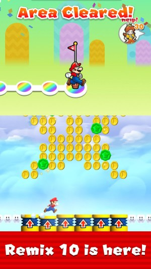 Super Mario Run 3.0.20 Screen 2