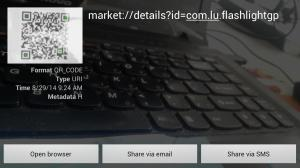 QR Code Scanner 2.6 Screen 1