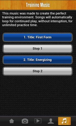 Android Wing Chun Siu Lim Tao Pro Screen 3