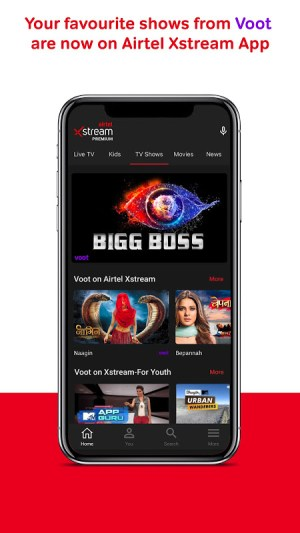 Airtel Xstream: Live TV, Movies, TV Shows, Films 1.36.1 Screen 7