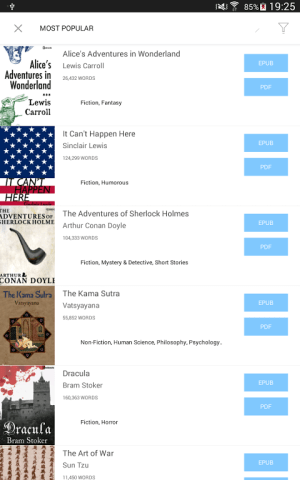 Bookari Ebook Reader Premium 4.2.4 Screen 22