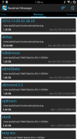 Nandroid Manager * ROOT Screen