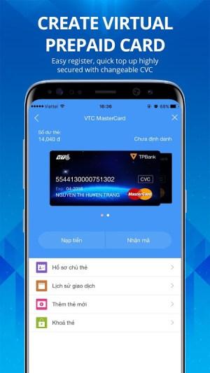 Ví VTC Pay 4.3.49 Screen 1