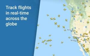 Flightradar24 Flight Tracker 8.7.3 Screen 1