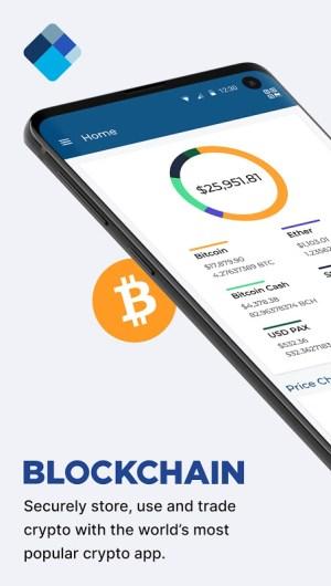 Blockchain Wallet. Bitcoin, Bitcoin Cash, Ethereum 6.27.2 Screen 3